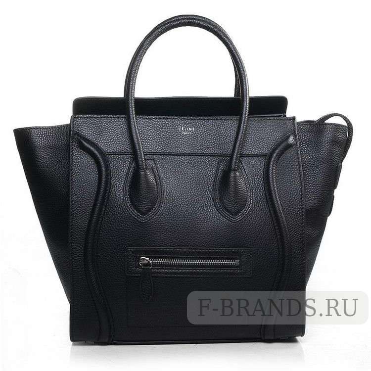 купить сумку celine luggage черная