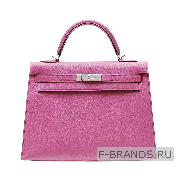 Сумка Hermes Kelly 32 розовая