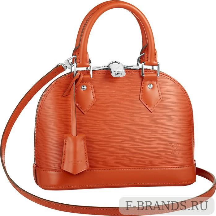 Сумка Louis Vuitton Alma BB Оранжевая