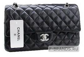 Classic Flap Bag черная (Premium качество)