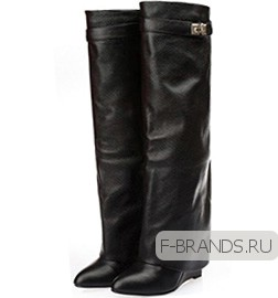 Сапоги Givenchy Wedge Boots Черные