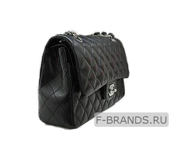 Chanel Classic Flap Bag черная (Premium качество)