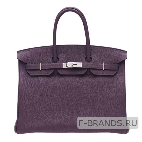 Сумка Hermes Birkin 35 фиолетовая