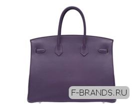 Hermes Birkin 35 Фиолетовая Togo