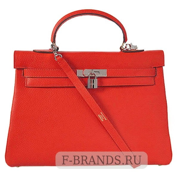 Сумка Hermes Kelly 35 красная