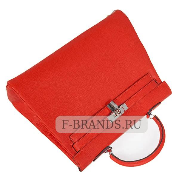 Hermes Kelly 35 Красная Togo