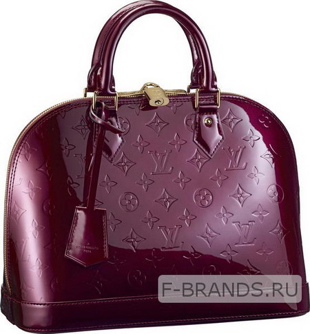 Сумка Louis Vuitton Alma фиолетовая