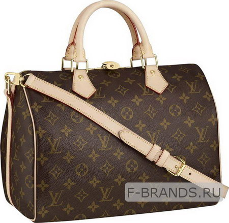 Сумка Louis Vuitton Speedy 30 коричневая