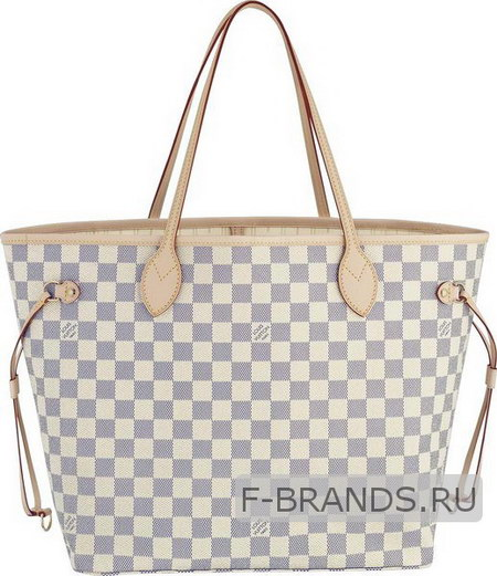 Сумка Louis Vuitton Neverfull серая