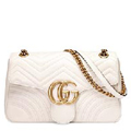 GG Marmont matelasse shoulder bag белого цвета (Premium качество)