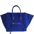 Luggage Phantom Square Синяя замша