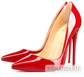 Туфли Christian Louboutin So Kate красного цвета 120мм (Premium качество)