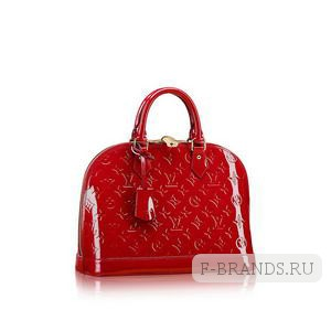 Сумка Louis Vuitton Alma красная