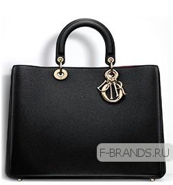 купить черную сумку Diorissimo премиум