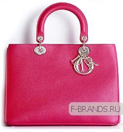 купить розовую сумку Diorissimo премиум