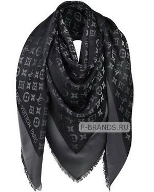 купить черную шаль louis vuitton