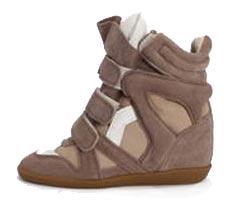 Sneakers Isabel Marant бежевые