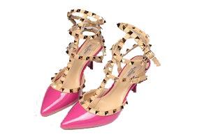 Туфли Valentino розовые
