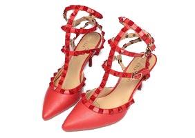 Туфли Valentino красные