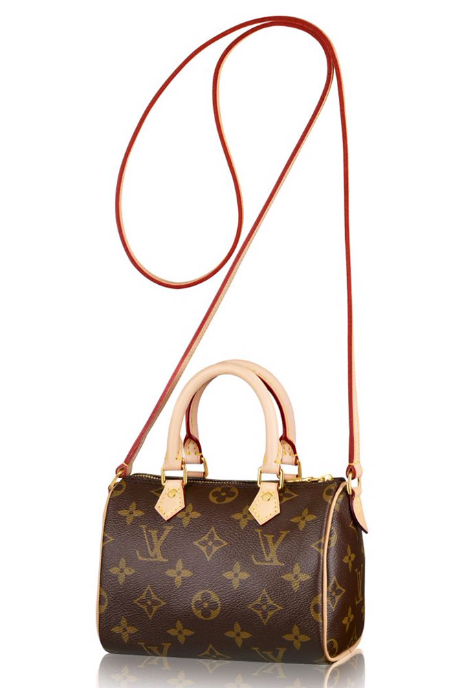 Купить сумку Louis Vuitton Nano Speedy