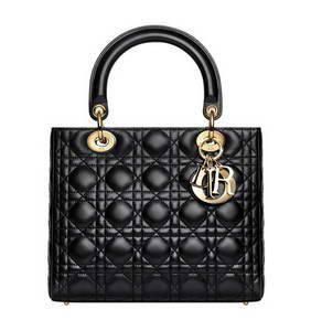 купить черную сумку Dior 24см