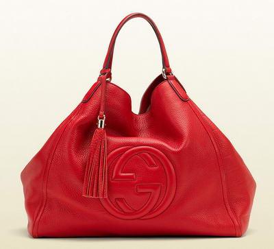 Сумка Gucci Soho Leather Shoulder Bag